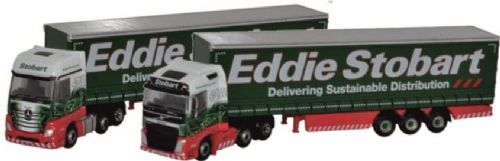 TRACK FRIDAY SPECIAL EDDIE STOBART twin pack (N Gauge)